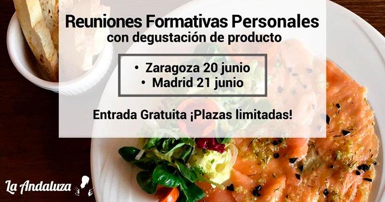La Andaluza organiza jornadas de puertas abiertas en Zaragoza y en Madrid el 20 y 21 junio