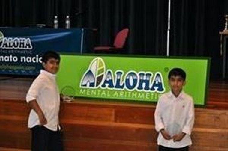 Dos alumnos de la franquicia Aloha Mental Arithmetic en España,ganadores del Campeonato Mundial de Aritmética Mental para Niños