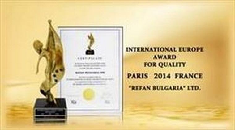 Refan gana el premio de calidad 2014