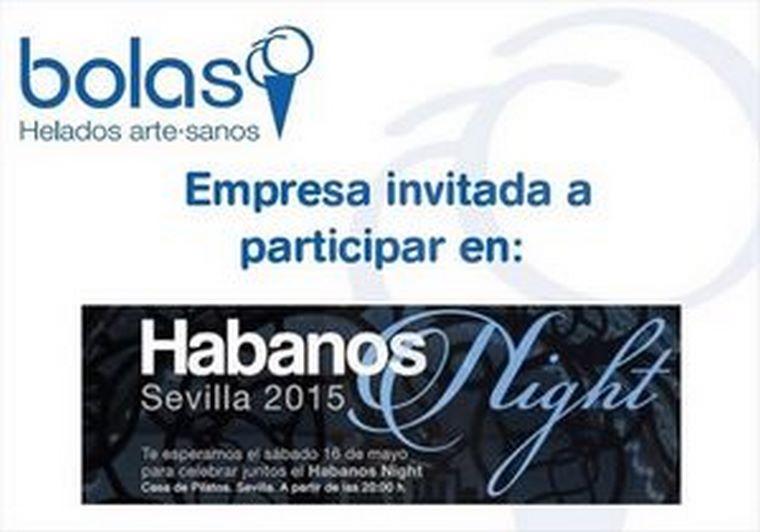Bolas en el Habanos Night Sevilla 2015