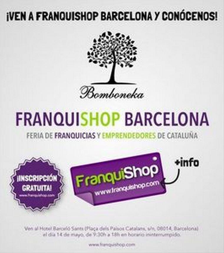 Bomboneka estará presente en la III Edición de FranquiShop Barcelona