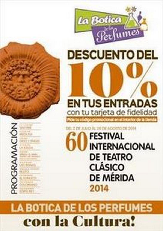 El Festival Internacional de Teatro Clásico de Mérida y La Botica de los Perfumes firman un acuerdo de colaboración