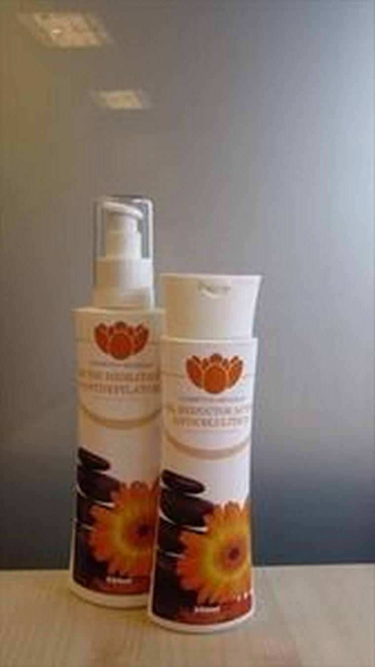 Abanolia apuesta por su propia línea de productos, gel reductor y leche hidratante Abanolia.