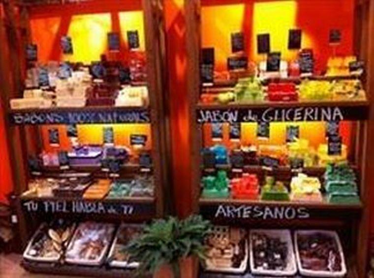 La Jabonería Galesa presente en la Feria Internacional de Franquicias de México.