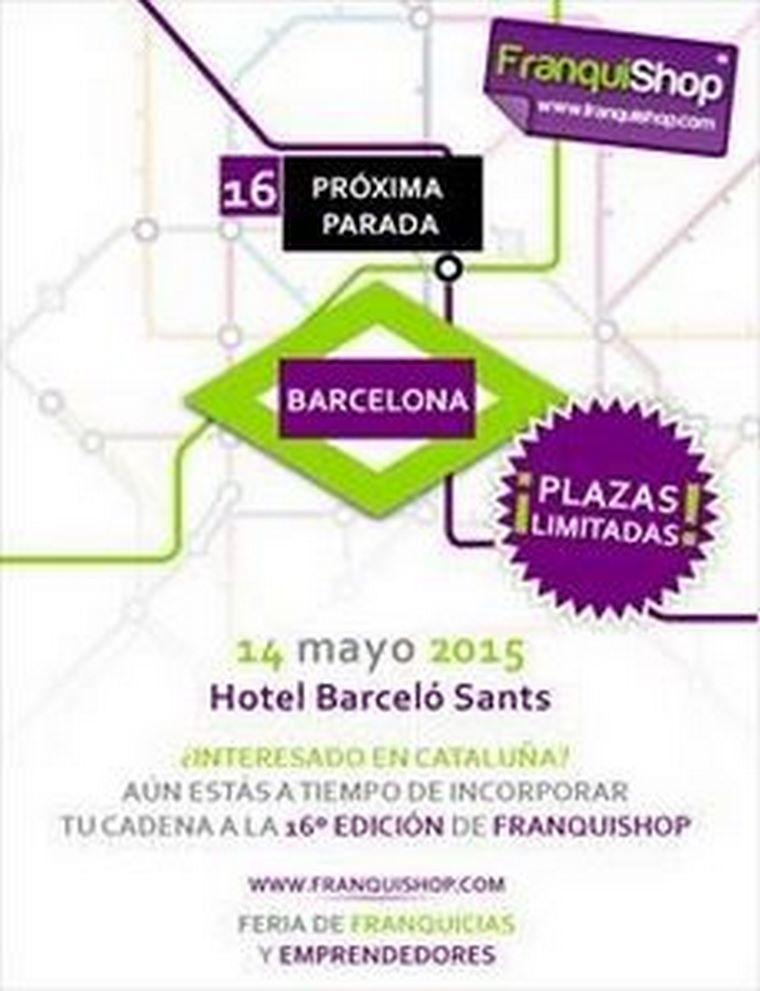 Barcelona será el próximo destino 2015 de FranquiShop