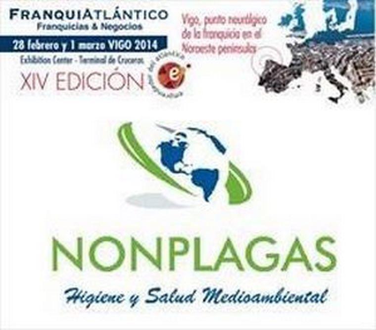 Presentación oficial de la franquicia Nonplaga en el Salón Franquiatlantico.