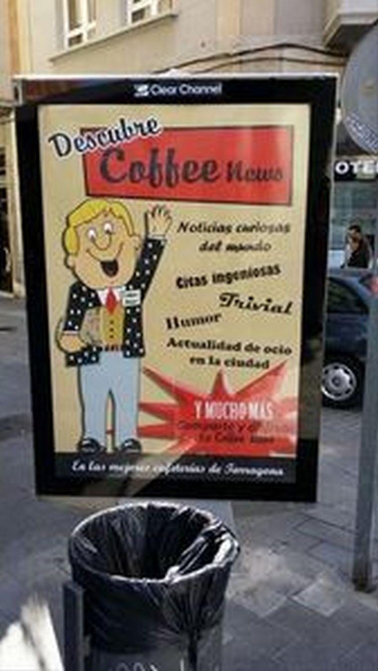 Coffee News AVANZA ahora en Tarragona y Reus
