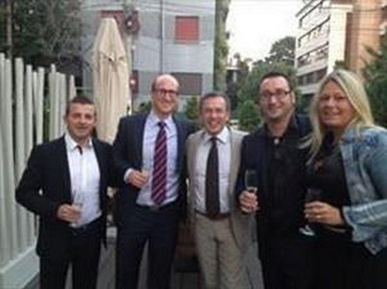 Los fundadores de berolina España asisten a la 14ª berolina Europartner Meeting.