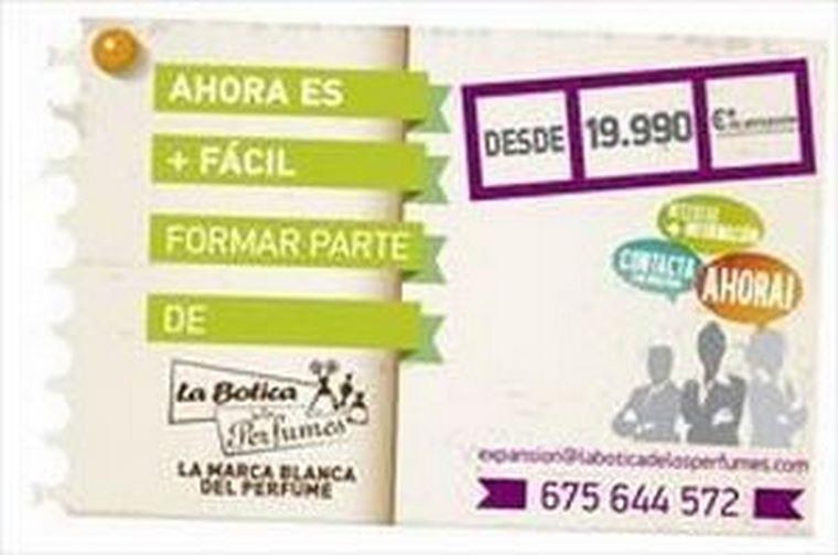 La Botica de los Perfumes vuelve a bajar su inversión hasta los 19.990 euros