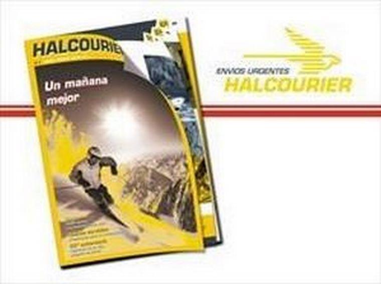Halcourier', la revista corporativa de la enseña de transporte urgente, duplica su número de páginas y premia cada mes a clientes y franquiciados