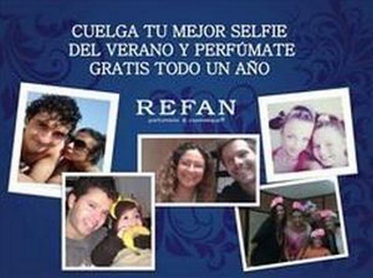 Las franquicias de Refan regalan un año de perfume