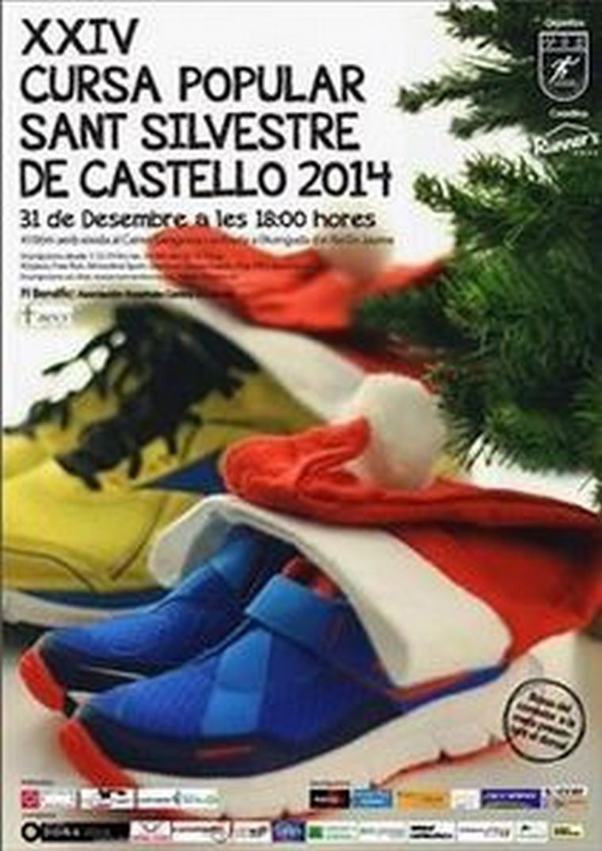 AKIWIFI en San Silvestre 2014 Castellón