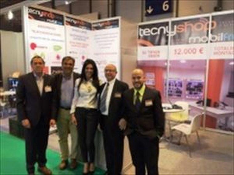 Tecnyshop Mobilfree gran aceptación en ExpoFranquicia 2015