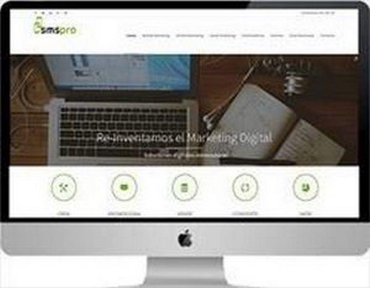 Nueva página web SMSPRO