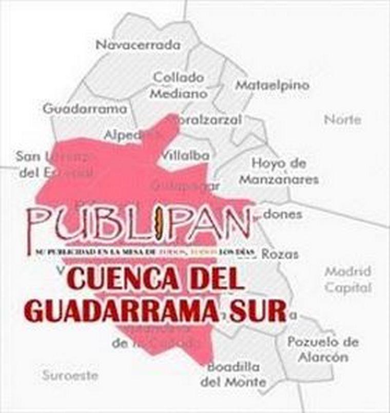 PUBLIPAN también presente en la Cuenca del Guadarrama Sur