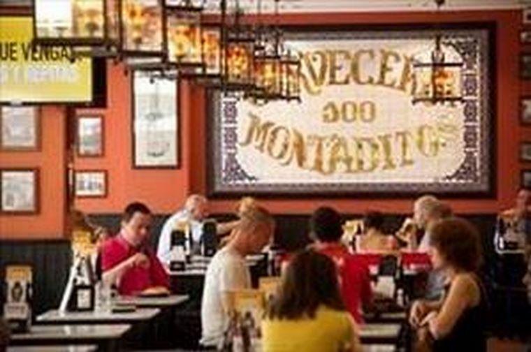 Más de 100.000 personas visitan 100 Montaditos a diario en el mundo