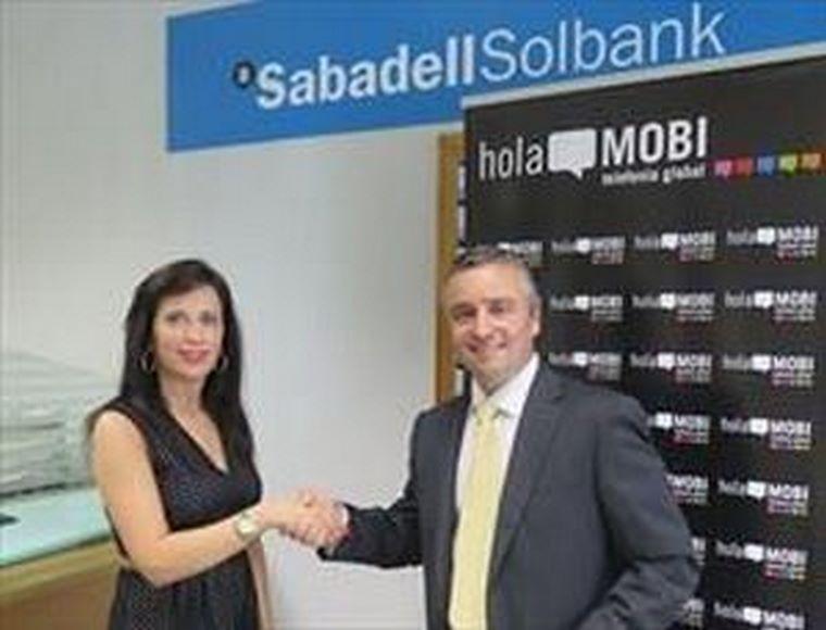 holaMOBI y Banco Sabadell llegan a un acuerdo para la financiación de emprendedores.