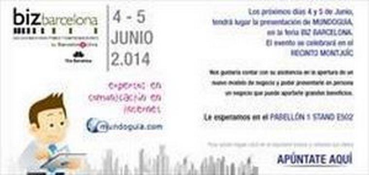 Mundoguía mostrará su modelo de negocio en Biz Barcelona 2014.