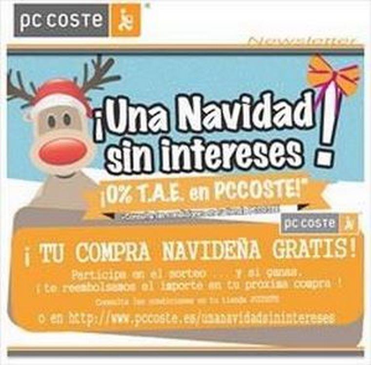 ¡En Pc Coste, tu compra navideña gratis!