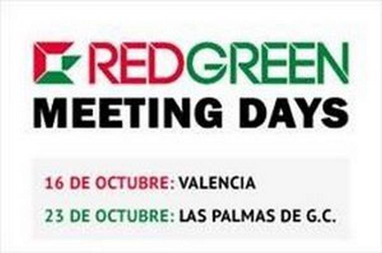 Próximos REDGREEN Metting Days en Valencia y Las Palmas.