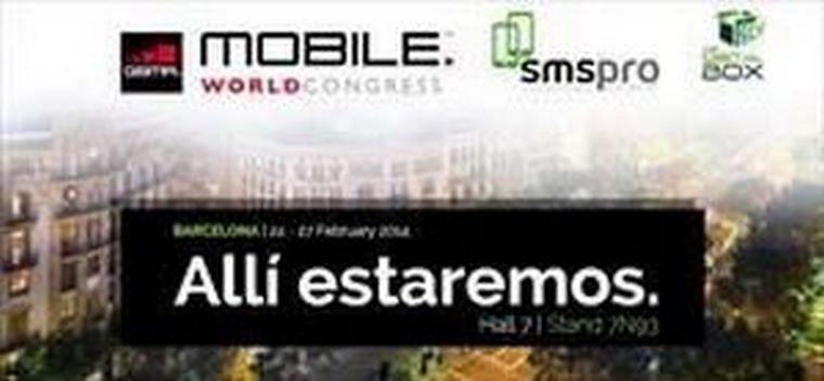 SMS PRO estará en el Mobile World Congress