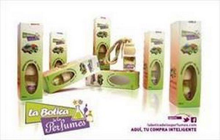 La franquicia La Botica de los Perfumes ofrece una nueva línea de ambientadores para automóvil, los de mayor calidad del mercado