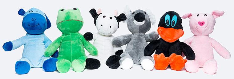 La franquicia de ocio infantil Animal Party lanza la nueva colección de peluches