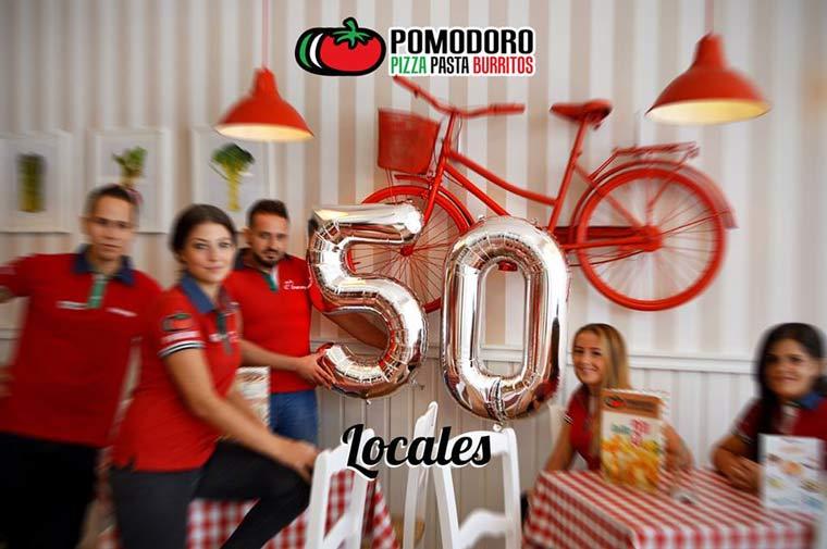 La franquicia Pomodoro logra abrir 50 establecimientos