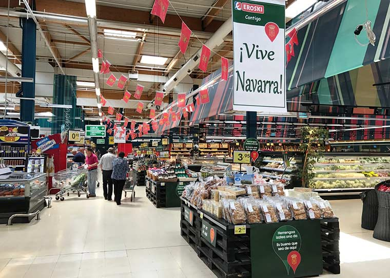 Eroski arranca con la campaña de apoyo a los alimentos locales Navarros