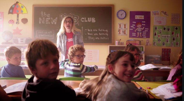 The New Kids Club en TV