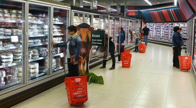 Eroski amplía el modelo energético a todas sus tiendas contigo
