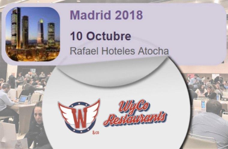 WyCo Madrid 2018 Restaurant presente en FranquiShop