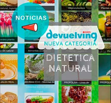 DEVUELVING, nueva tienda de dietética natural dentro del Centro Comercial Online