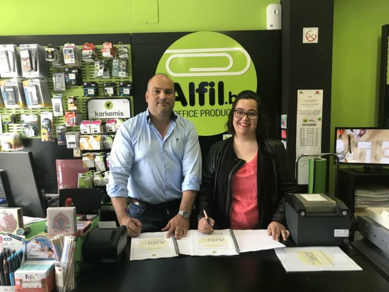 Nueva firma de Alfil.be en Madrid