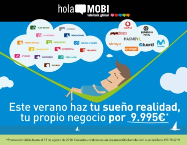 Promoción de verano de holaMOBI telefonía global