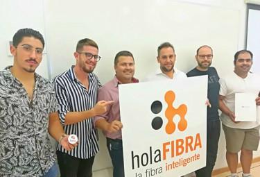 Los nuevos franquiciados de holaFIBRA terminan su programa de formación