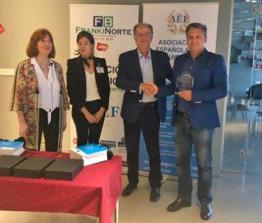 Elixian TECHNOLOGY recibe el Premio libre elección del jurado Salón de la Franquicia Frankinorte