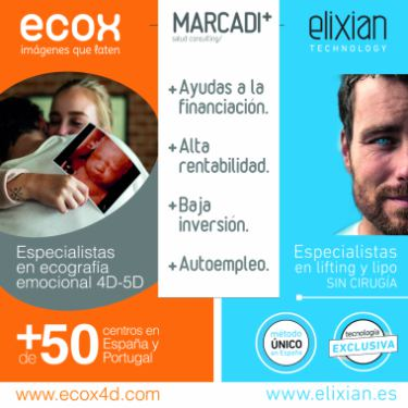 ECOX4D-5D y Elixian Technology, franquicias multimarca de Grupo Marcadi Salud, reciben el reconocimiento del sector de la franquicia en Frankinorte