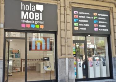 holaMOBI telefonía global inaugura nuevas tiendas en centros comerciales