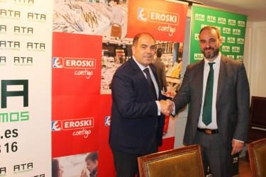 EROSKI y ATA colaborar para dar apoyo a los emprendedores