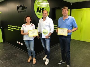 Alfil.be finaliza su nueva formación en Almassora