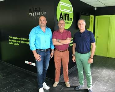 Alfil.be  firma un acuerdo de colaboración con la ONCE