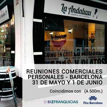 La Andaluza organiza sus jornadas a puertas abiertas de reuniones comerciales personales en Barcelona