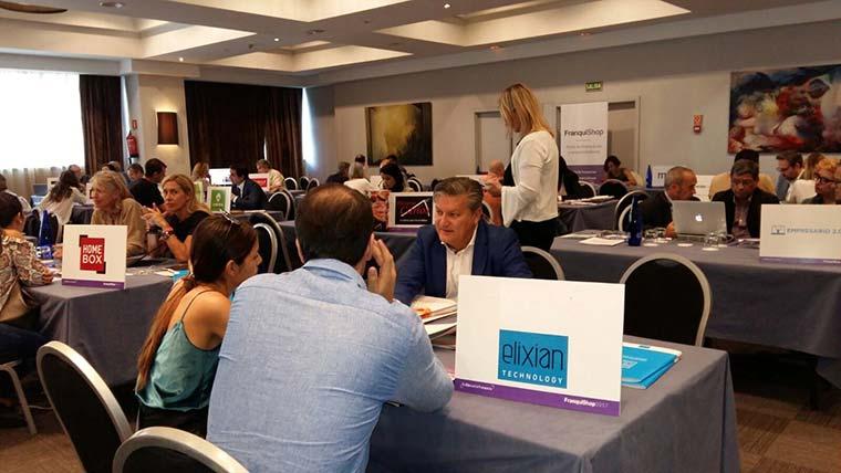 Elixian TECHNOLOGY recibe un gran número de visitas en Franquishop Madrid