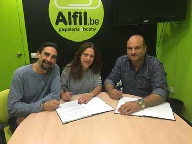 Alfil.be papeleria & hobby inaugura en Vallehermoso (Madrid)