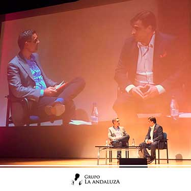 Diego Espinosa presidente de El Grupo La Andaluza, presente en el V encuentro de Restauración organizada de Alimarket