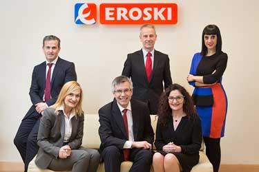 Cajasur y Eroski firman un acuerdo para apoyar la financiación de franquiciados