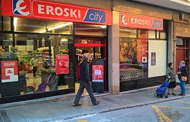 EROSKI cambia dos supermercados franquiciados en Lekeitio (Vizcaya)