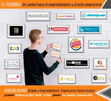 Topfranquicias y la Universidad de Málaga organizan una jornada sobre la FRANQUICIA