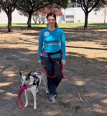 TerranovaCNC se une con Turismo Canino en el reto de realizar el Camino de Santiago con perro